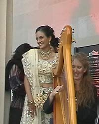 indian wedding museum harp